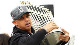 cb815a6cefea Boston Red Sox Manager Alex Cora.