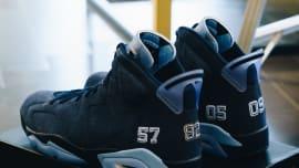 b0ba889213fa UNC Air Jordan 6 Alternate Heel