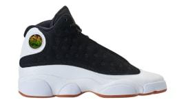 fb3fcda6d5e4d2 Air Jordan 13 Girls Black Gold White Gum Release Date 439358-021