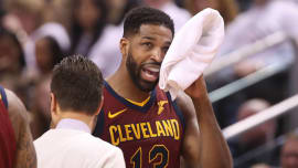 e90a0bec729 Tristan Thompson Explains Why He Walked Out of Interview After Question  About Feeling  Helpless