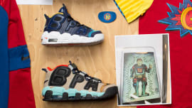 9906bbe5f180 Nike Air More Uptempo Doernbecher Samples Lead. Sole Collector