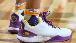 39e941b6b84557  SoleWatch  Lonzo Ball Wears Big Baller Brand Sneakers in Lakers Debut