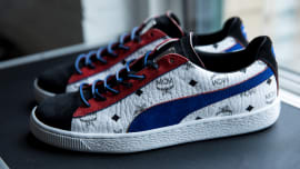 9a71ce7a231b MCM Lends Its Iconic Monogram to Classic PUMA Silhouettes for an Exclusive  Collaboration