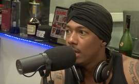 Nick Cannon totally blows it on 'The Breakfast Club.'
