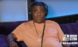 Tracy Morgan appears on 'The Howard Stern Show.'