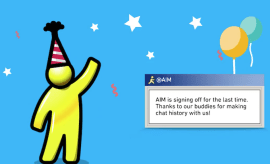 AIM officially signing off