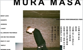This is a photo of Mura Masa.