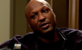 Lamar Odom sits down with Dr. Travis Stork of 'The Doctors.'