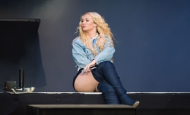 Iggy Azalea performs during Day 4 of Sziget Festival 2017