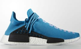 Blue Pharrell adidas NMD Human Race Side
