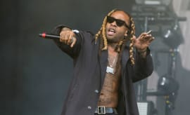 Ty Dolla Sign performs.