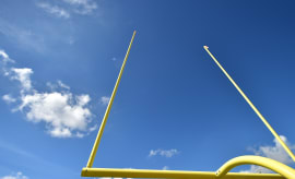 Goal Posts 2017 Dolphins Training Camp