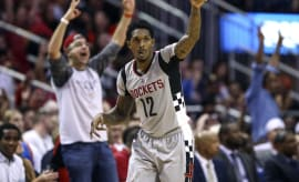 Lou Williams Houston Rockets 2017 Thunder