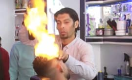 blowtorch barber