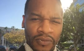This is Jaheim's Instagram selfie.