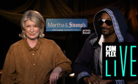 "Snoop Dogg and Martha Stewart ""Complex Live"""