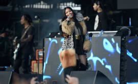 Nicki Minaj at the Meadows Music and Art Festival