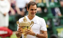 Roger Federer, Day Thirteen: The Championships - Wimbledon 2017