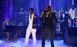 2 Chainz and Gucci Mane on Tonight Show.