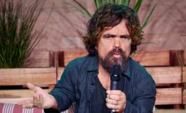 Peter Dinklage at 'La Vida Nuestra' Barcelona Photocall