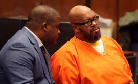 Suge Knight at pretrial hearing