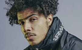 British rapper AJ Tracey for Nike and JD Sports