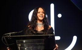 Rihanna at the Third Annual Diamond Ball