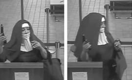 Two nuns try robbing a bank in Pennsylvania.