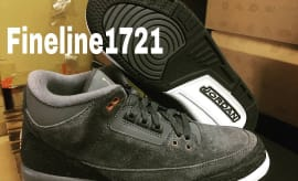 Air Jordan 3 Girls Anthracite Bronze Release Date 441140-035