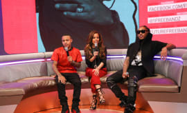 Bow Wow, Keshia Chante, and Future attend 106 & Park