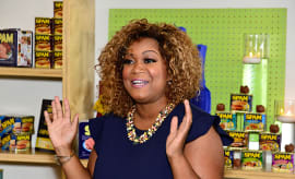 Sunny Anderson hosts the Kick-Off of the SPAMERICAN National Food Truck Tour