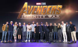 The cast of 'The Avengers: Infinity War'