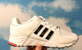 Adidas EQT White/Turbo Red