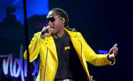 Future performs onstage during the 'Nobody Safe' tour at The Forum