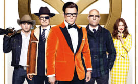 A theaterical poster for 'Kingsman: The Golden Circle.'
