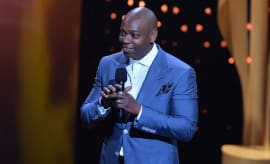 Dave Chappelle at the 2017 Canadian Screen Awards