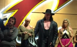 The Undertaker at Quicken Loans Arena in Cleveland