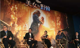 press conference of American director Bill Condon's film 'Beauty and the Beast'