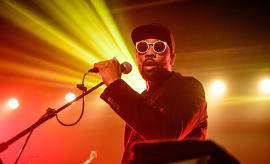 This is a photo of RZA.