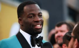 Draymond Green at the 2017 NBA Awards.