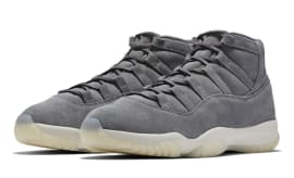 "Air Jordan XI Premium ""Grey Suede"""