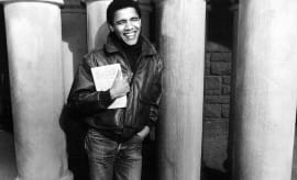 Barack Obama as a student at Harvard Law