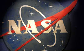 old NASA logo
