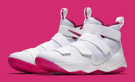 Nike LeBron Soldier 11 Kay Yow Breast Cancer Awareness Release Date Main 897645-102