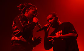 Drake and Future in Denver