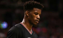 Jimmy Butler was traded to the Timberwolves.