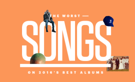 Worst Songs on 2016's Best Albums