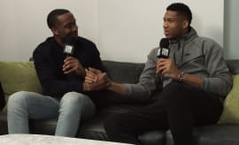 Giannis Antetokounmpo interview for Complex News and Mountain Dew