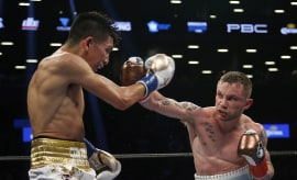 Carl Frampton Leo Santa Cruz Barclays Center 2016