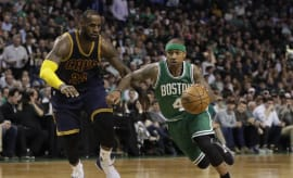 LeBron James Isaiah Thomas Celtics Cavs 2017